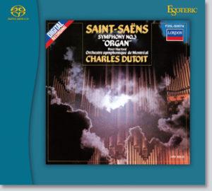 サン=サーンス:交響曲第3番《オルガン付》&ビゼー:交響曲ハ長調 ジャケット