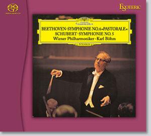 ベートーヴェン:交響曲第6番「田園」 シューベルト:交響曲第5番 ジャケット