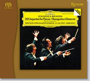 ブラームス:ハンガリー舞曲集(全曲)ジャケット