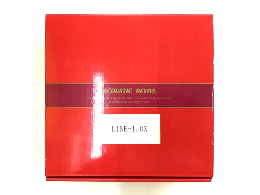ACOUSTIC REVIVE(アコースティック リヴァイブ) LINE1.0X・ペア