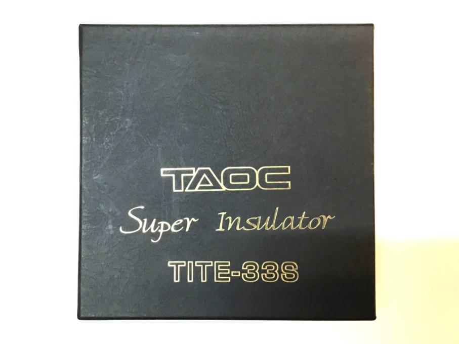 TAOC(タオック)super insulator TITE-33S